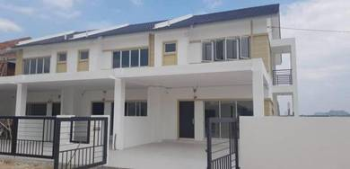 Super promo. - new double storey terrace near aeon klebang