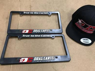 Drag Cartel 'True to the Cartel' Plate Frame