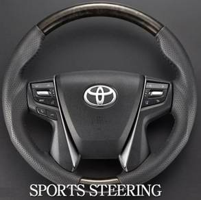 Toyota vellfire alphard 30 steering wheel wood