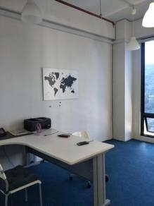 Office partly Furnished , size 665sf, Wangsa 118 , Wangsa Maju, KL
