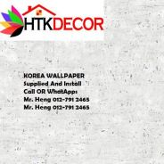 Wall paper Install at Living Space 44LM