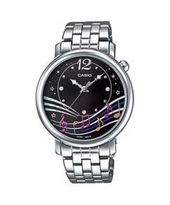 Watch - Casio Lady Music Note LTPE123D-1 -ORIGINAL