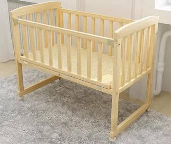 Baby cot katil bayi infant bed mattress cradle 1