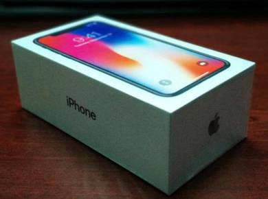 Baru iPhone X 64GB. Menjual 14OOrm jer