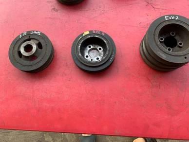 Evo 4,5,6,7,8,9 & lancer 10 crank pulley