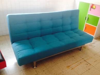 Sofa bed / katil sofa brown