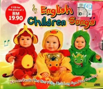 CD English Children Songs (2CD)