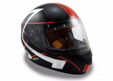 Helmets Full Face (Kids) Red