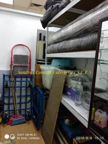 Boltless Rack With MDF Board ( Wh )