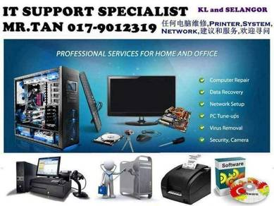 Pos system IT Support product format repair PC kl