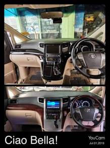 Toyota vellfire alphard 20 dashboard panel cover
