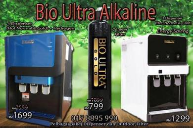 Penapis Air Water Filter Dispenser Bio ULTRA BOsKu