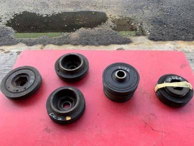 Honda dc5,ep3,fd2r,b16a,b16b,b18c crank pulley