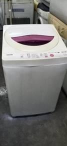 Mesin basuh terpakai automatik toshiba 6.5 kg