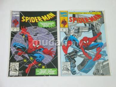 SPIDER-MAN. 1990. issue 27-28. There Something Abt