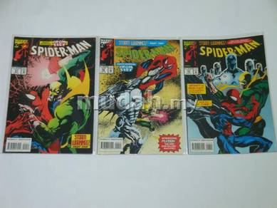 SPIDER-MAN. 1990. issue 41-43. Storm Warnings