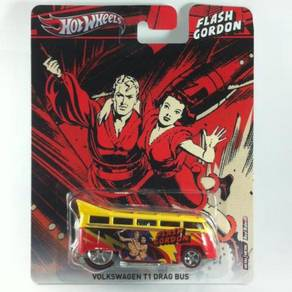 Hotwheels Pop Flash Gordon Volkswagen T1 Drag Bus