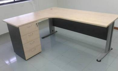 L shape office table Code OT-246