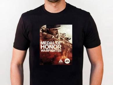 Tshirt Baju MEDAL OF HONOR II TSV siap poslaju