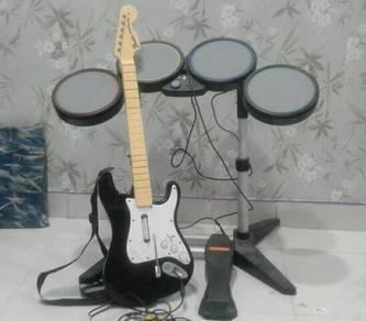 Guitar & drum set controller xbox