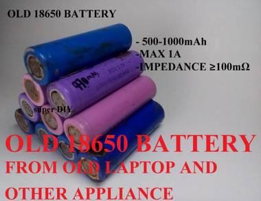 18650 3.7v battery