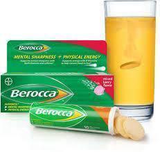 Dr Mahathir Berocca vitamin B , C , ZMA , Biotin 6