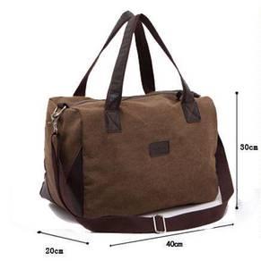 Korea Travel Tote Messenger Canvas Bag Beg -Type C