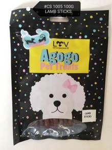 Agogo Dog Treat Lamb Stick 100gram Snack Anjing