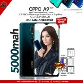 NEW Oppo a9 2020 8+128gb malaysia set