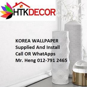 PVC Vinyl Wall paper with Expert Install 91ML
