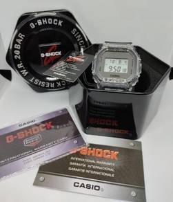 Jam G-Shock Petak Silver