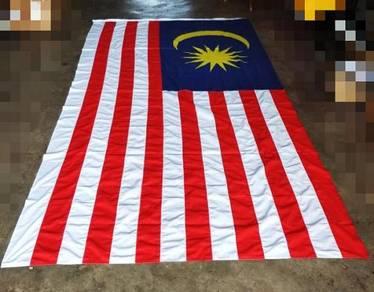 Bendera Malaysia (Saiz Besar) 6kaki x 12kaki