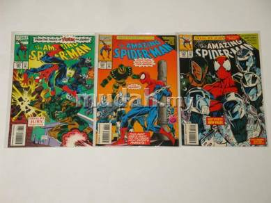 Amazing SPIDER-MAN issue 383-385. Trial By Jury