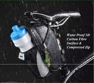 ROCKBROS Cycling Saddle Bag With Water Bottle