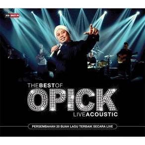 CD The Best of Opick - Live Acoustic (2 CD)