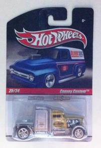 Hotwheels Pennzoil Convoy Custom #25 Silver