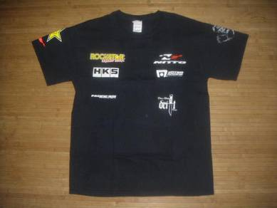 Tshirt : nitto drift team by rockstar energy