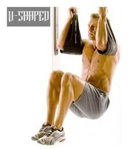 U-Shaped Hardcore Abdominal Core Strap Gym Gear Ab