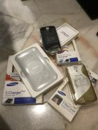 Samsung S Charger Pad, Charger Cover & S View Cove