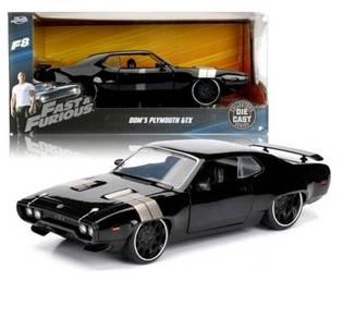 Fast & furious 8 Dom's plymouth GTX 1/24 model