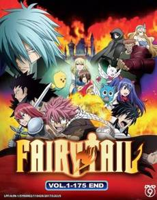 DVD ANIME Fairy Tail Vol.1-175 End