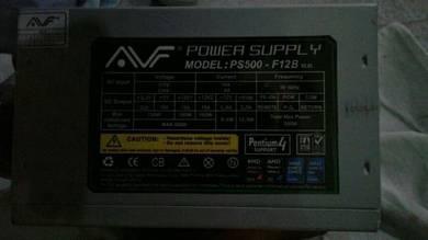 Avf power supply 500w p4 20+4 pin