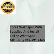 Beautiful In Wall paper with Installation h57