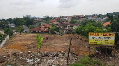 Bungalow lot land in section 9, shah alam
