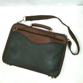 Full leather briefcase