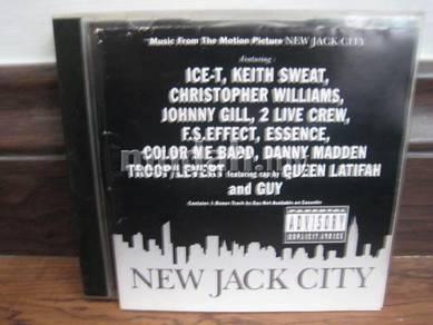 CD New Jack City Soundtrack