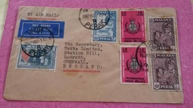 Cover IPOH England 1962 No 877
