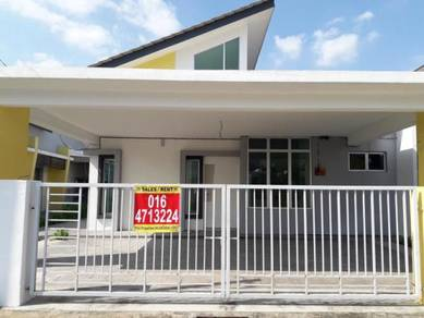 New Single Storey Semi D in Puteri Residence