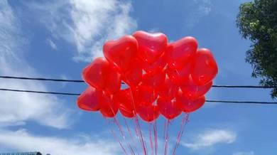 30pcs Self Pickup Love Shape Balloon 00179