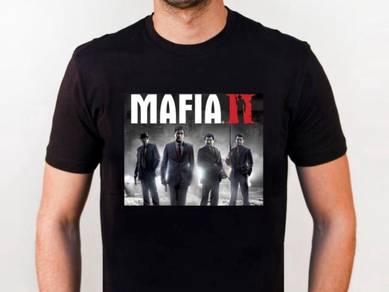Tshirt Baju MAFIA II TSV siap poslaju